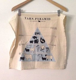 Fringe Supply Co. Flour Sack Towel - Yarn Pyramid