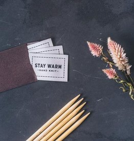 Twig & Horn Stay Warm Woven Labels