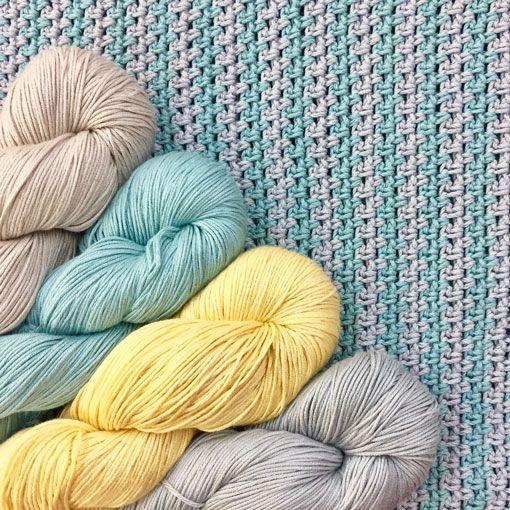 River Colors Studio Braeden's Blankie Patern
