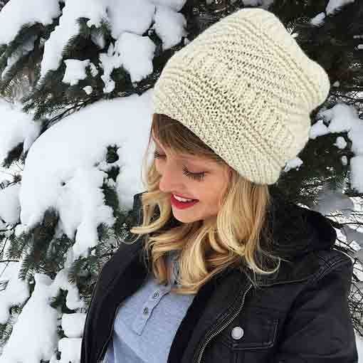 Drea Renee Knits Snoqualmie Hat