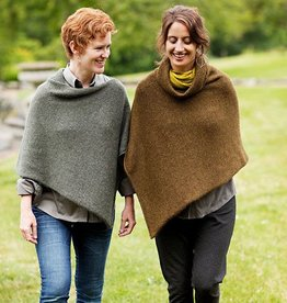 Churchmouse Easy Folded Poncho