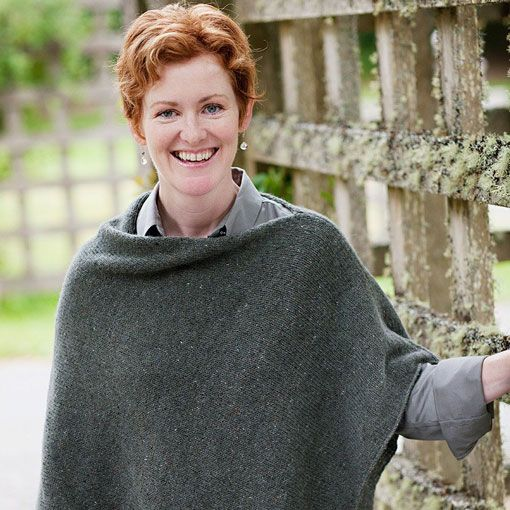 Churchmouse Churchmouse Easy Folded Poncho