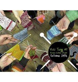 River Colors Studio Twigg Stitch Technique Class