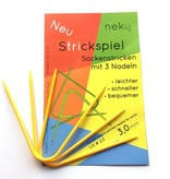 Neko Neko Curved Double Pointed Sock Needle