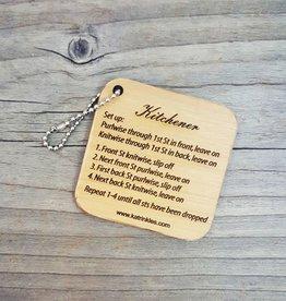 Katrinkles Kitchener Keychain