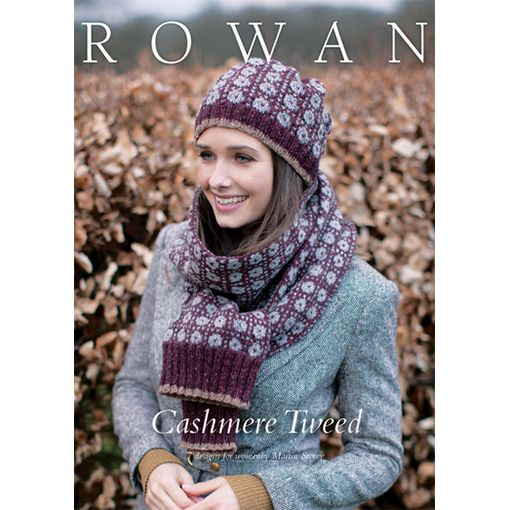 Rowan Cashmere Tweed Pattern Booklet River Colors Studio