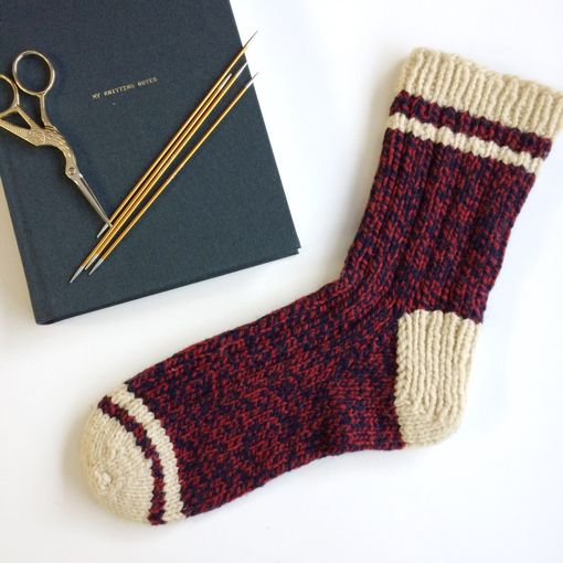 River Colors Studio Rustic  Sock Class (worsted weight)