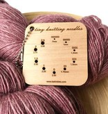 Katrinkles Katrinkles Tiny (Lace/Sock) Needle Gauge Keychain