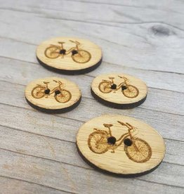 Katrinkles Bicycle Buttons