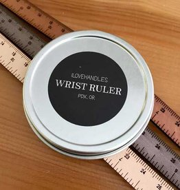 ILOVEHANDLES Leather Wrist Ruler
