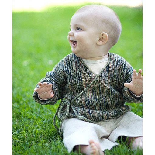 Churchmouse Churchmouse Baby Wrap Sweater