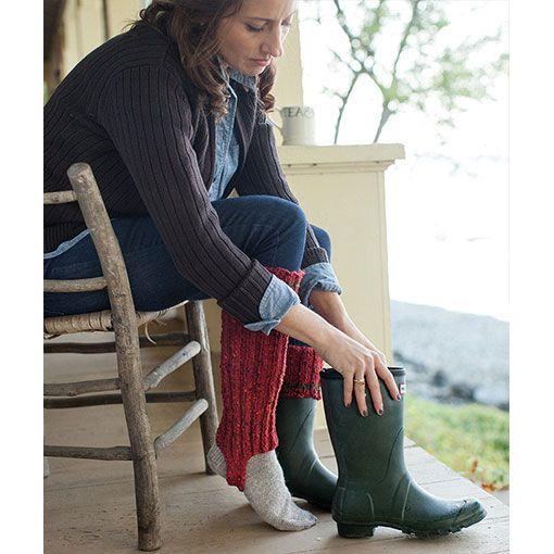 Churchmouse Churchmouse Cozy Boot Cuffs
