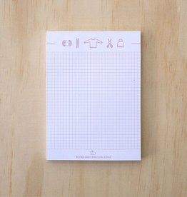Knitting Icons Notepad
