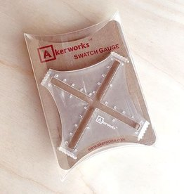 Akerworks Inc. Swatch Gauge