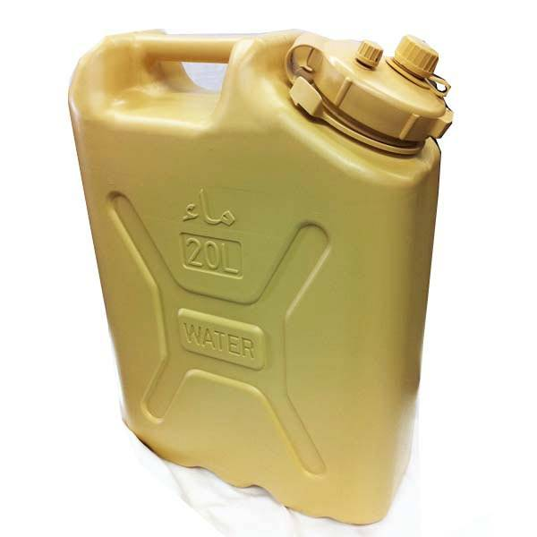 Scepter Scepter Military Water Can 20L Desert Tan with Arabic