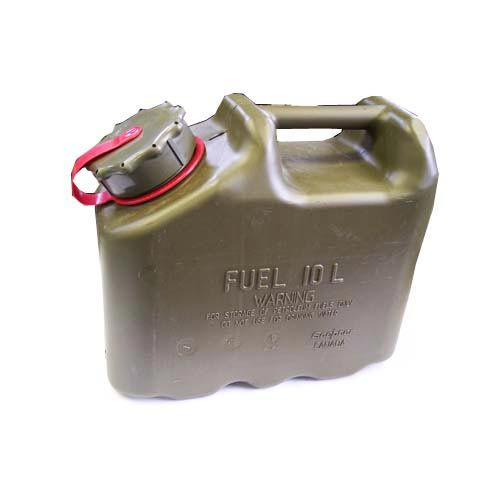 Scepter Scepter Military Fuel Canister 10L Gasoline Olive Drab