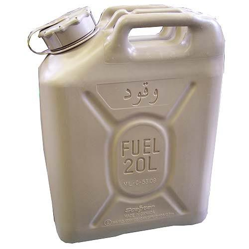Scepter Scepter Military Fuel Canister 20L Diesel Tan with Arabic
