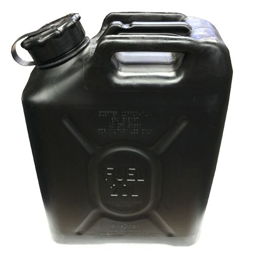 Scepter Scepter Military Fuel Canister 20L Gasoline Black
