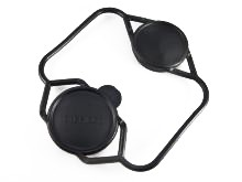 Elcan Elcan Bikini-style Lens Cover SpecterDR 1x/4x, Black