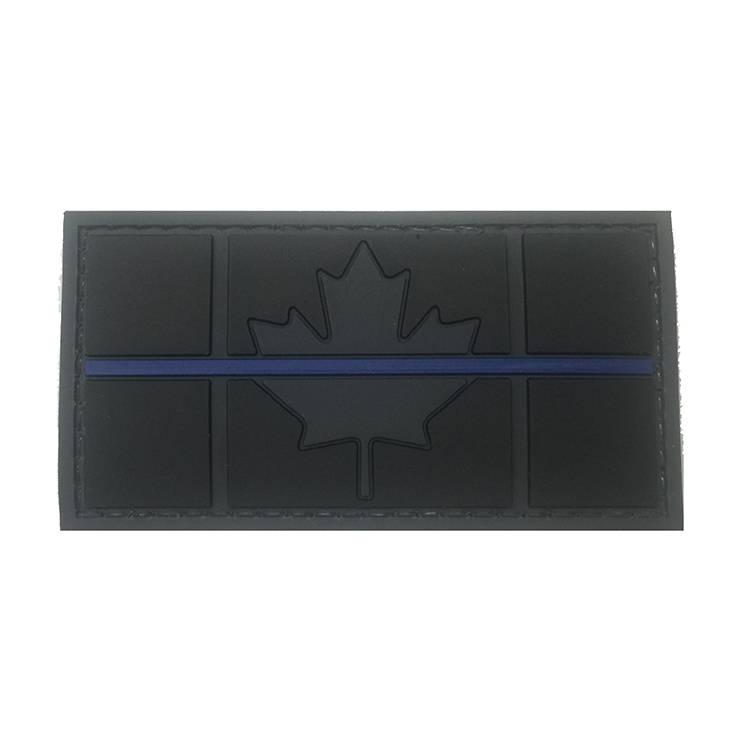 Canadian Flag, PVC, Blue Line