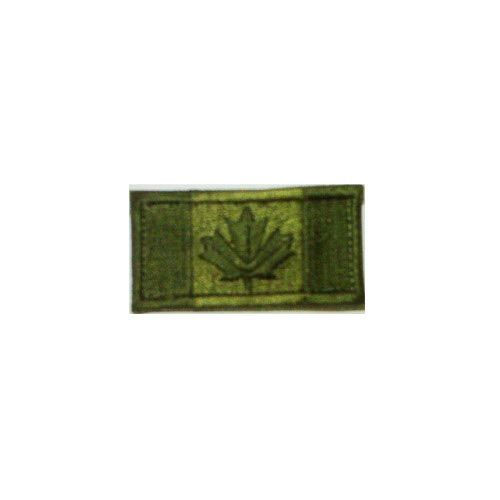 Canadian Flag, Small, Olive Drab