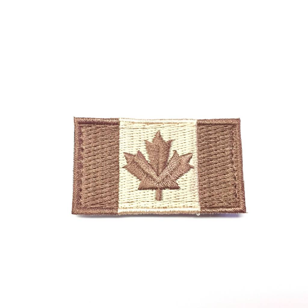 Canadian Flag, Small, Tan