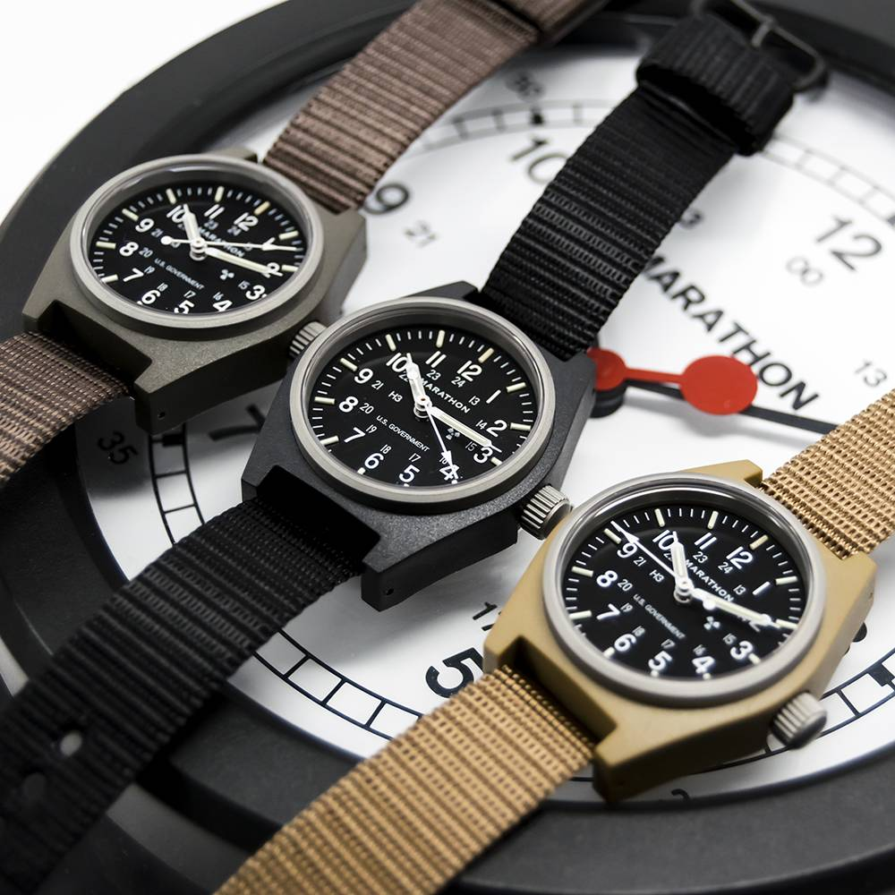 Marathon Watches Marathon Watches General Purpose Mechanical (GPM) Military Field Watch w/ Tritium