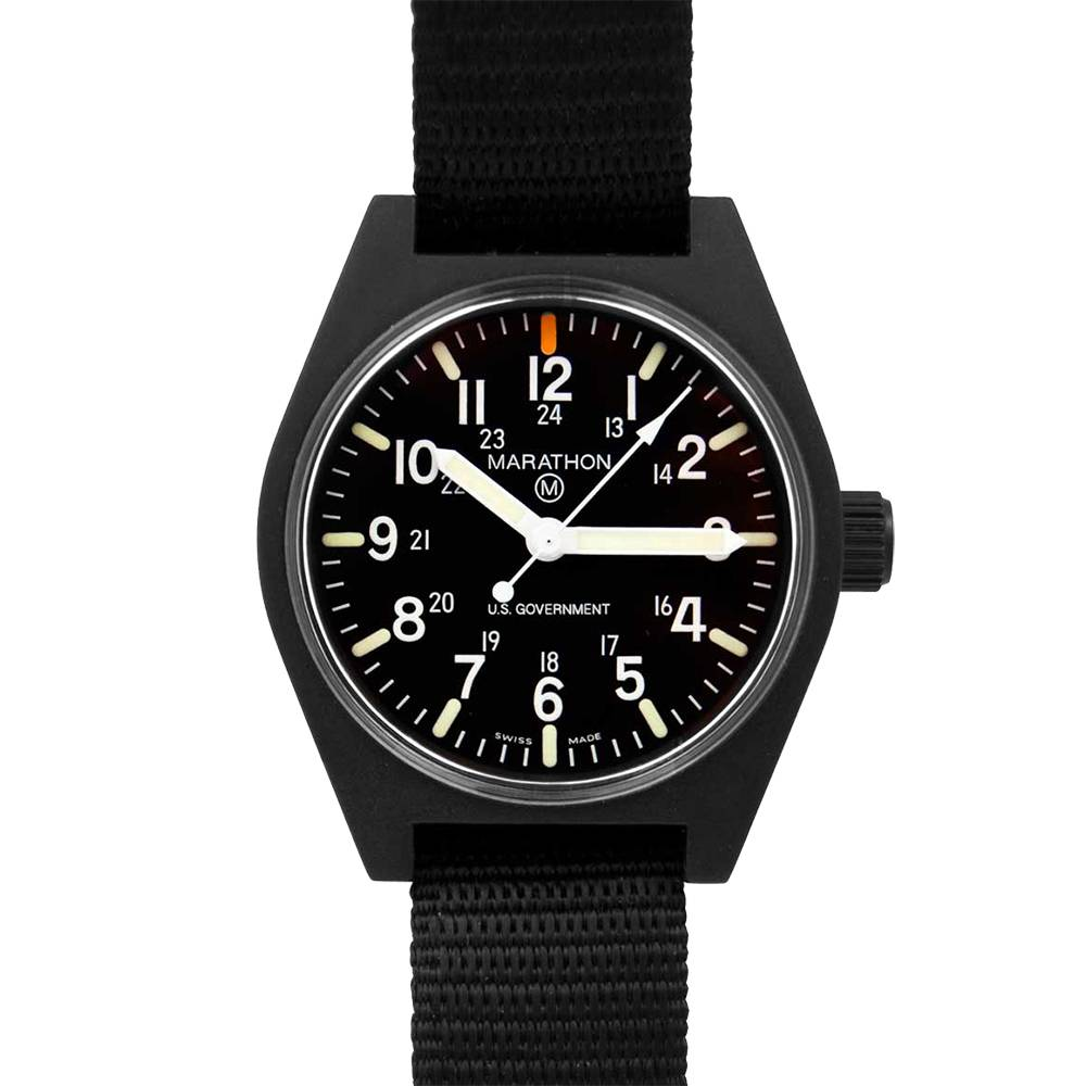 Marathon Watches Marathon Watches General Purpose Quartz w/ Non-Tritium MaraGlo - Swiss Made Military Field Army Watch