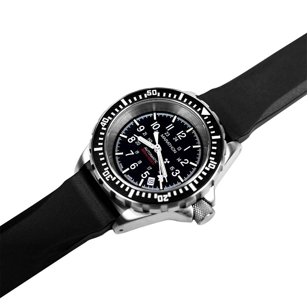Marathon Watches Marathon Watches GSAR Swiss Made Military Issue Diver's Automatic Watch w/ US Gov't Dial & Tritium