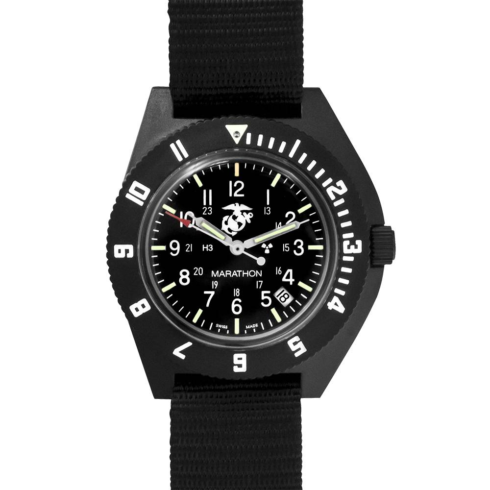 Marathon Watches Marathon Watches  Military Issue Navigator Quartz Pilot's Watch w/ Tritium