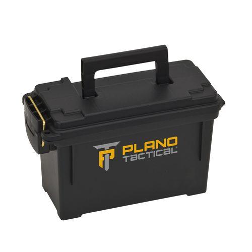 Plano Plano Tactical 30 Cal Ammo Box, Black