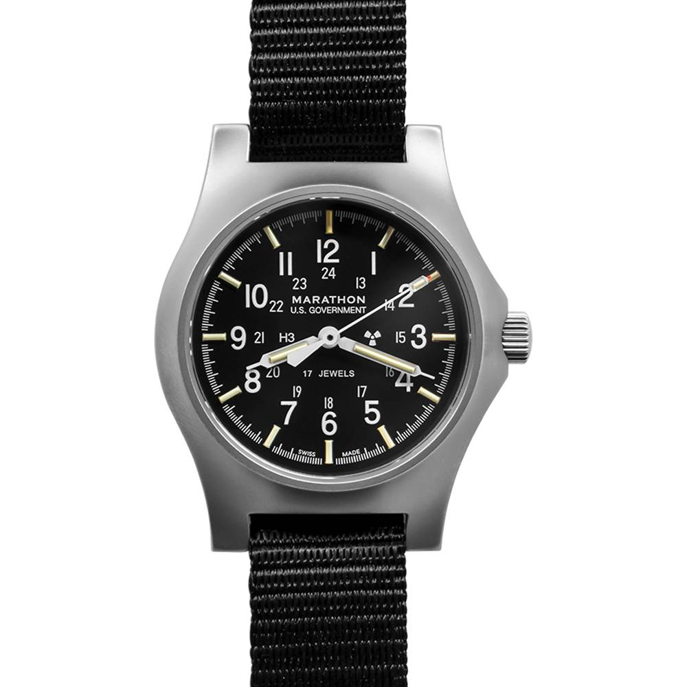 Marathon Watches Marathon Watches Swiss Made General Purpose Mechanical (GPM) Military Field Army Watch w/ ETA-2801 movement & Tritium