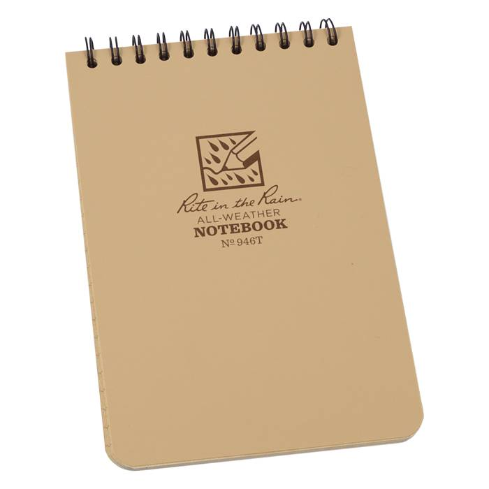 Rite in the Rain Rite in the Rain All-Weather Pocket Notebook (Top Spiral)