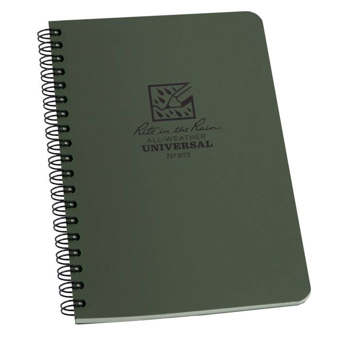 Rite in the Rain Rite in the Rain All-Weather Notebook (Side-Spiral)