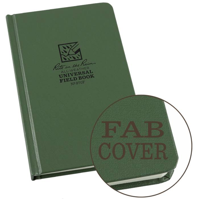 Rite in the Rain Rite in the Rain Fabrikoid Hard-Bound Book