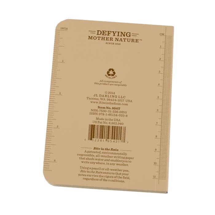 Rite in the Rain Rite in the Rain Field Flex Pocket Notebook (Side-Bound)