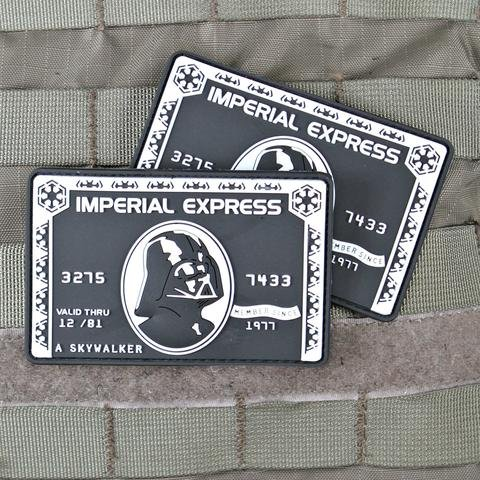 Violent Little Machine Shop Violent Little Machine Shop Imperial Express Morale Patch