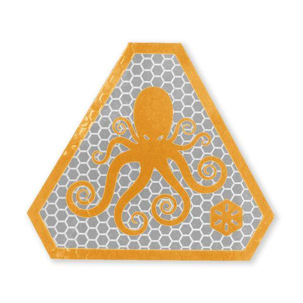 Prometheus Design Werx Prometheus Design Werx SPD Logo SOLAS Morale Patch - Flame Orange