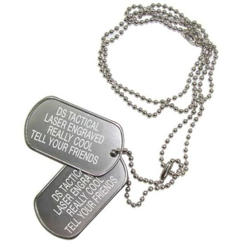 DS Tactical DS Tactical Laser Engraved U.S. Dog Tags