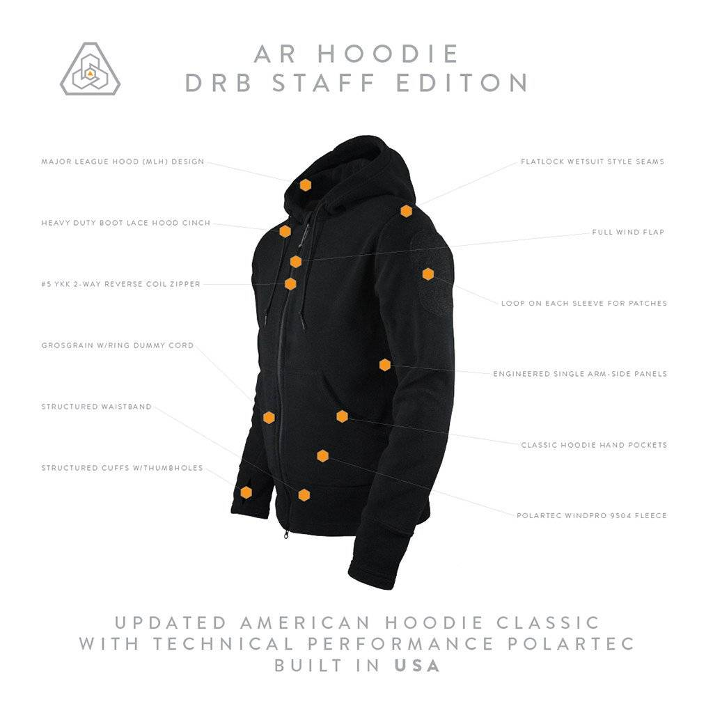 Prometheus Design Werx AR Hoodie DRB Staff Edition