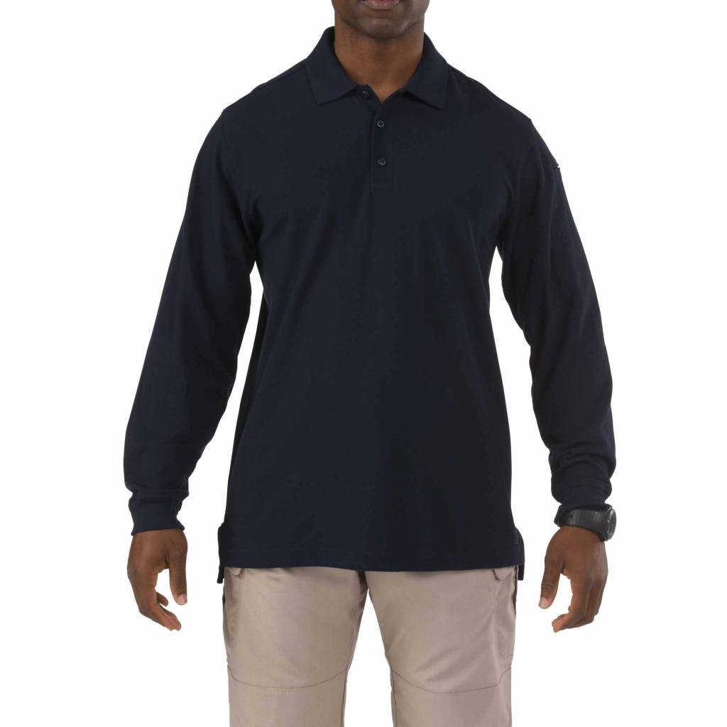 5.11 Tactical 5.11 Tactical Utility Long Sleeve Polo