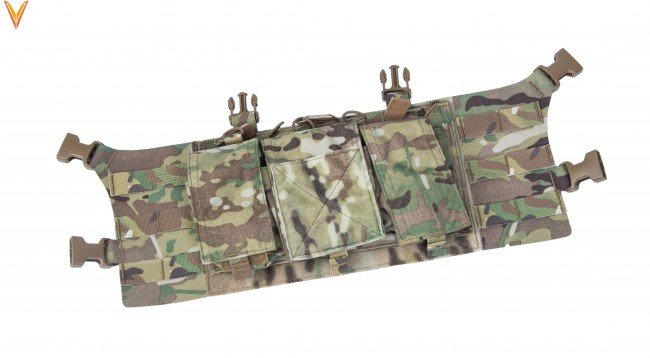 "Velocity Systems Velocity Systems Large Placard Chest Rig Adapter With ULTRAcomp 2"" H-Harness"