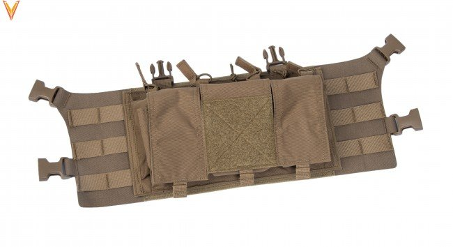 "Velocity Systems Velocity Systems Large Placard Chest Rig Adapter With ULTRAcomp 3"" H-Harness"