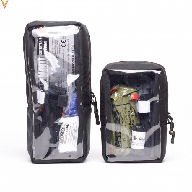 Velocity Systems Velocity Systems Velcro Medical Pouch, Large