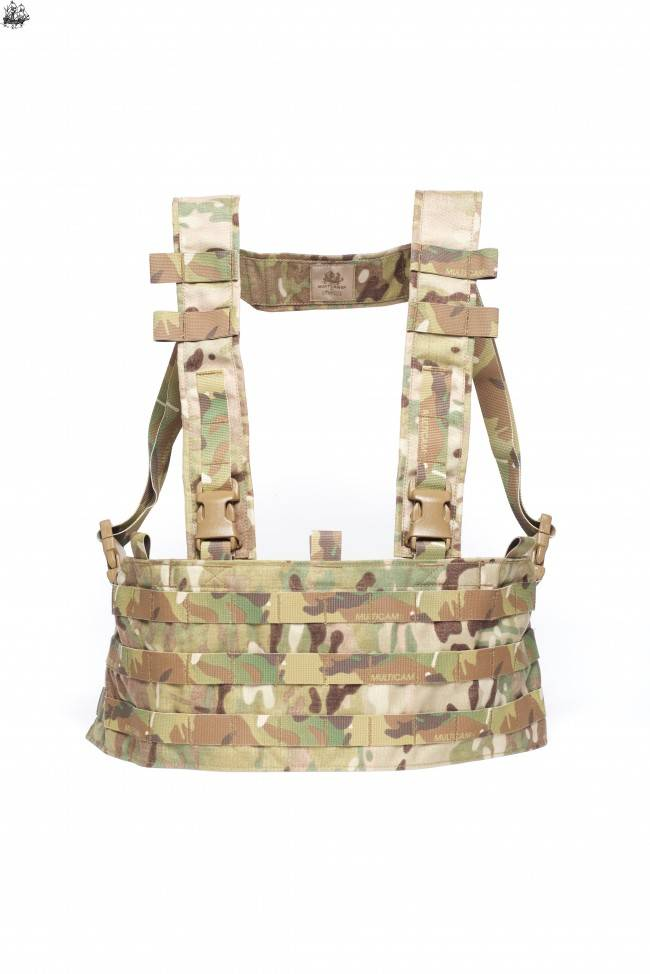 "Mayflower Mayflower UW Chest Rig, QD - ULTRAcomp 2"" H-Harness"