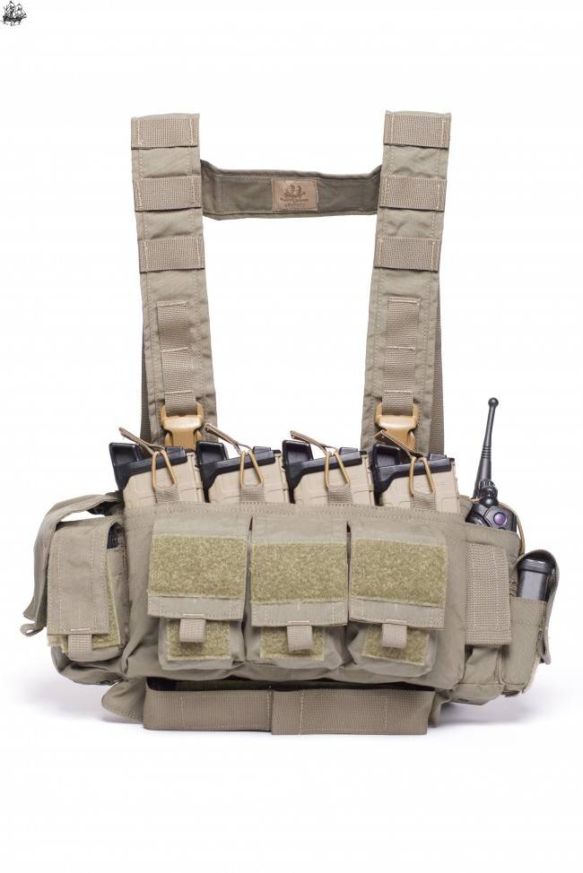 """Mayflower Mayflower LE/Active Shooter Chest Rig - ULTRAcomp 3"""" H-Harness"""