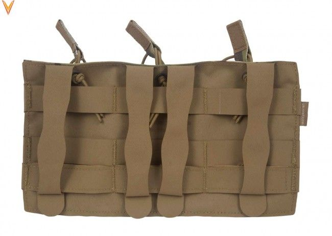 Mayflower Mayflower Helium Whisper Triple 5.56 Magazine Pouch, Open Top