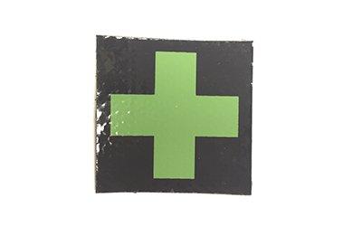 Medic Cross IR Patch, OD Green