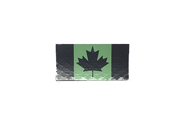 Canadian IR Flag, Small, OD Green