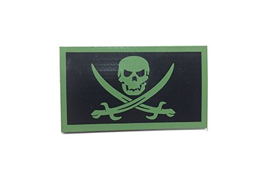 Calico Jack IR Patch, Large, OD Green
